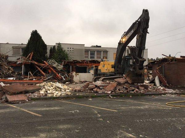 City of Olympia Isthmus building demolition