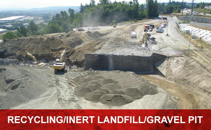 Recycling/Inert Landfill/Gravel Pit